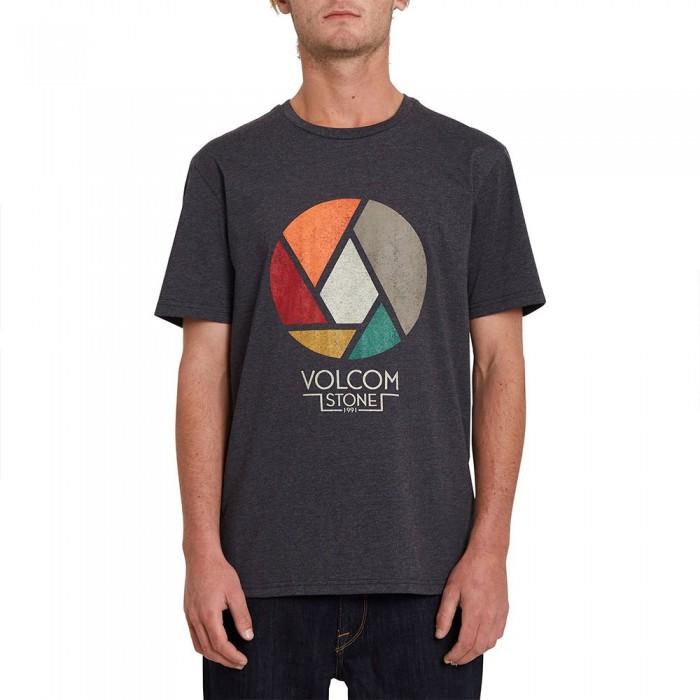 [해외]볼컴 Splicer Heather Short Sleeve T-Shirt 14138162426 Heather Black