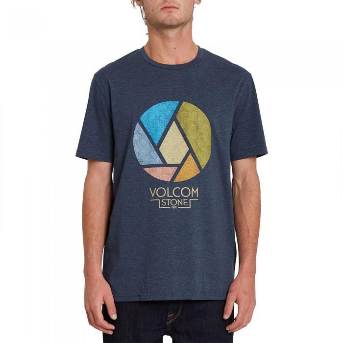 [해외]볼컴 Splicer Heather Short Sleeve T-Shirt 14138162427 Navy