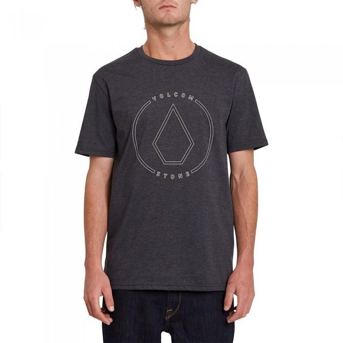 [해외]볼컴 Rim Stone Heather Short Sleeve T-Shirt 14138162428 Heather Black
