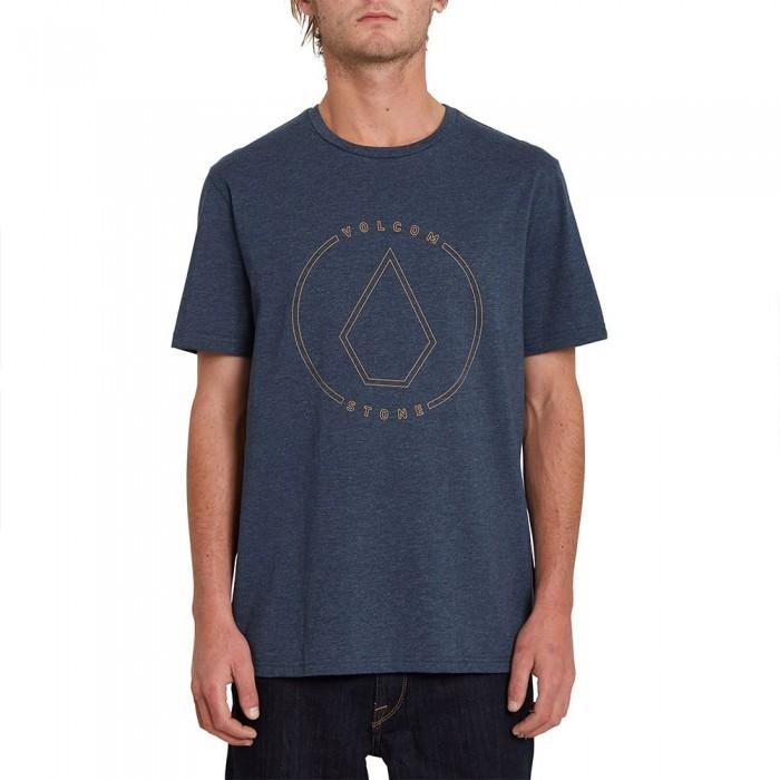 [해외]볼컴 Rim Stone Heather Short Sleeve T-Shirt 14138162429 Navy