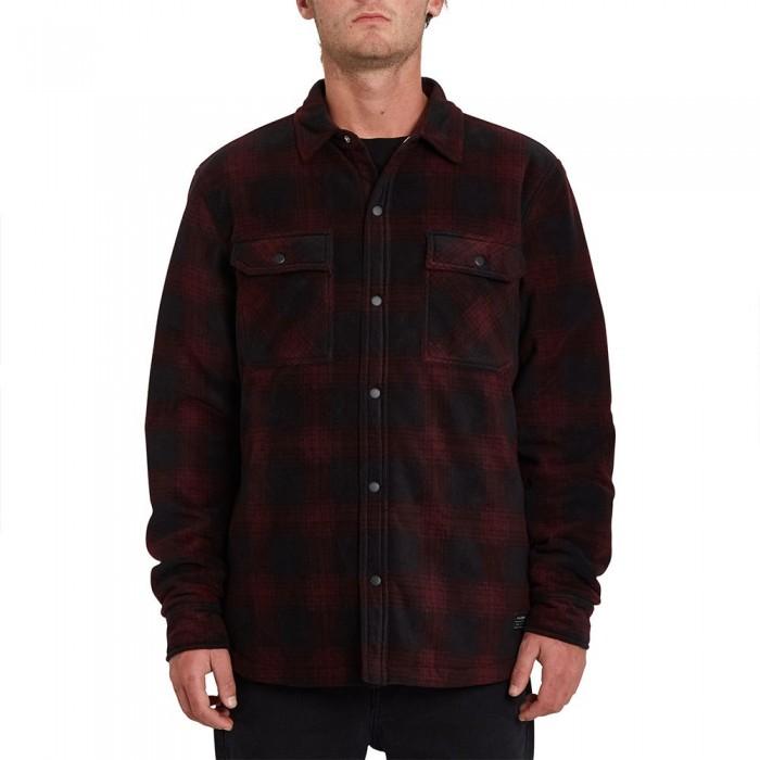 [해외]볼컴 Bowered Long Sleeve Shirt 14138162432 Port