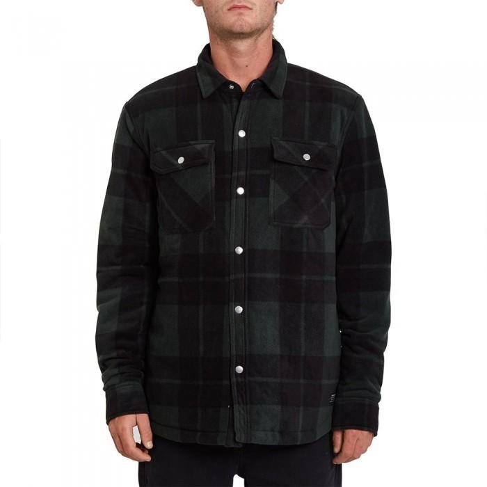 [해외]볼컴 Bowered Long Sleeve Shirt 14138162433 Scarab