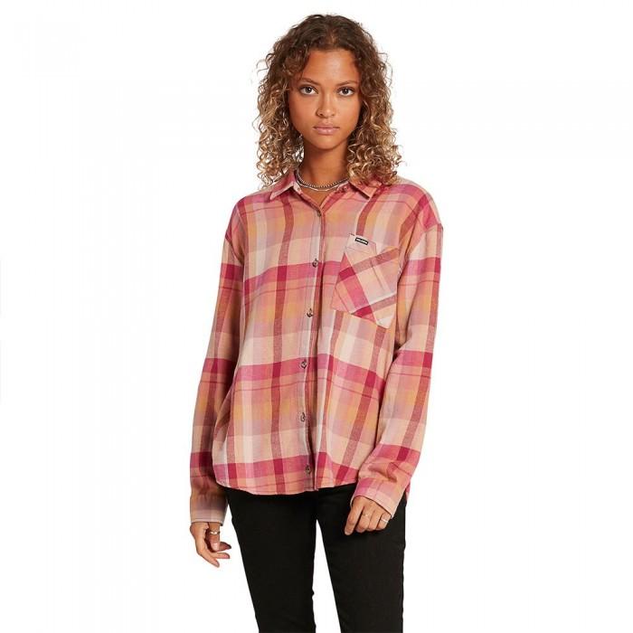 [해외]볼컴 Plaid To Meet U Long Sleeve T-Shirt 14138162441 Auburn