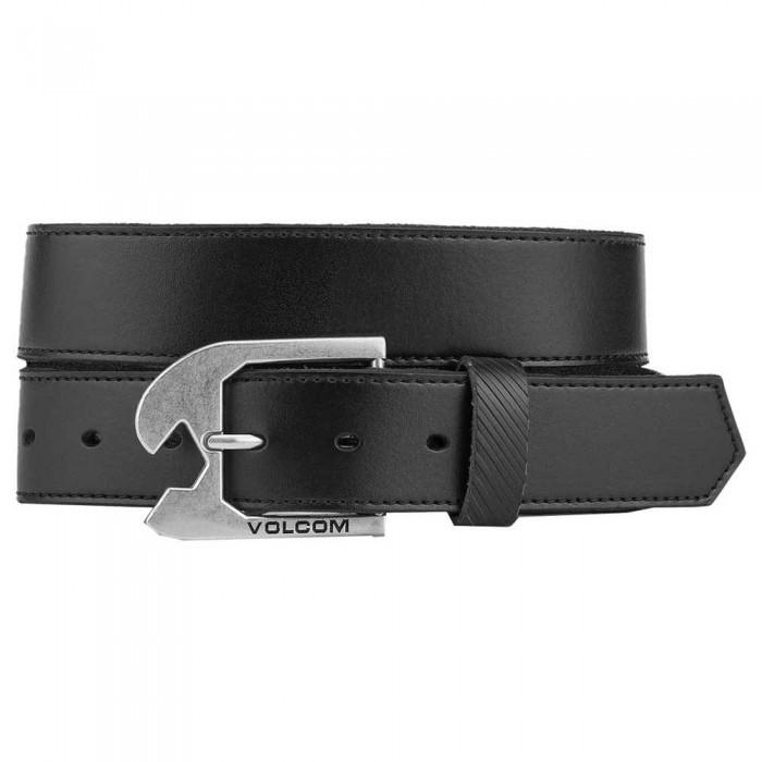 [해외]볼컴 Skully Leather Belt 14138162577 Black