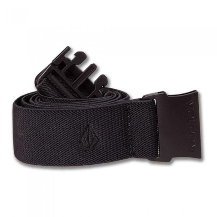 [해외]볼컴 Xander Elastic Belt 14138162579 Black