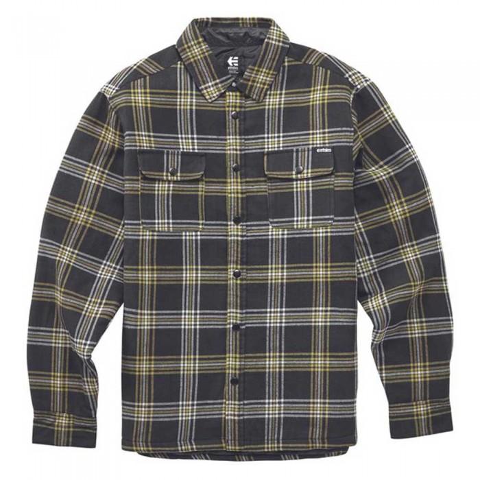 [해외]에트니스 Backswitch Long Sleeve Shirt 14138166082 Black / Brown