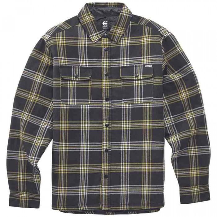 [해외]에트니스 Woodsman Long Sleeve Shirt 14138166083 Black / Brown