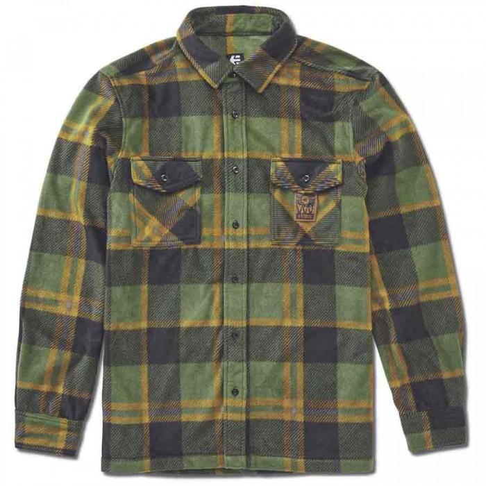 [해외]에트니스 Woodsman Long Sleeve Shirt 14138166084 Black / Olive