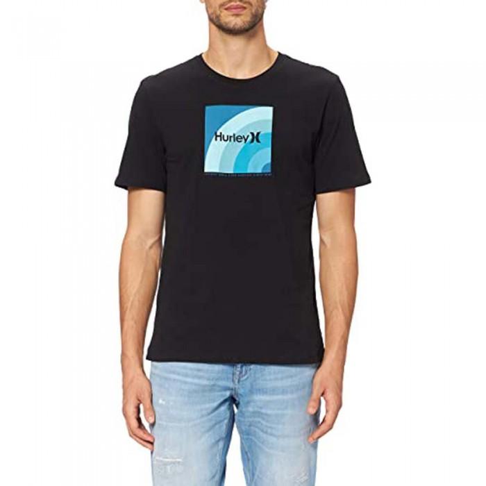 [해외]헐리 Everyday Washed Retro Box Short Sleeve T-Shirt 14138238485 Black