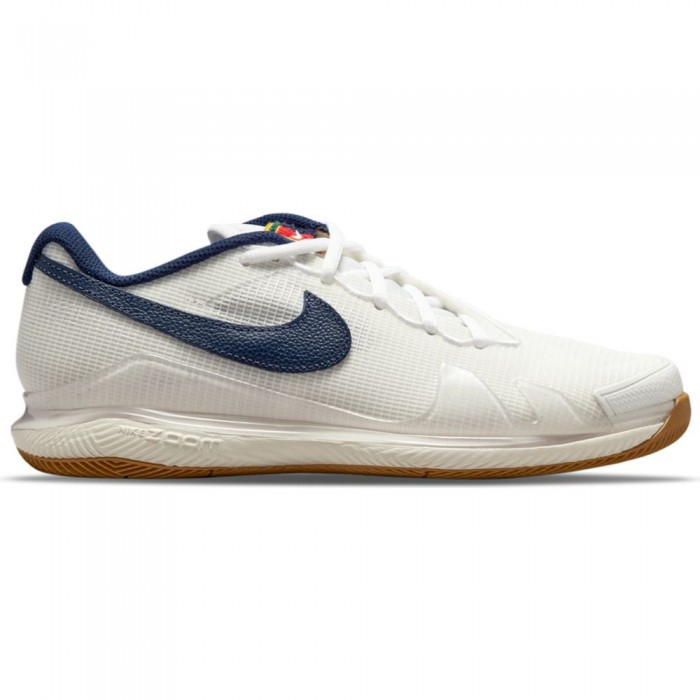 [해외]나이키 Court Air Zoom Vapor Pro Hard Shoes 12138251187 Summit White / Binary Blue-White-Sail