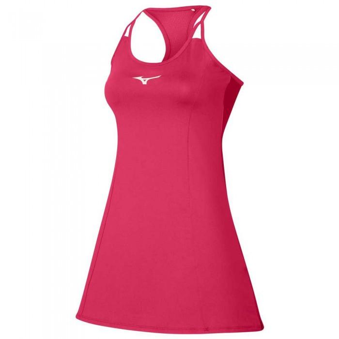 [해외]미즈노 Printed Dress 12138144023 Rose Red