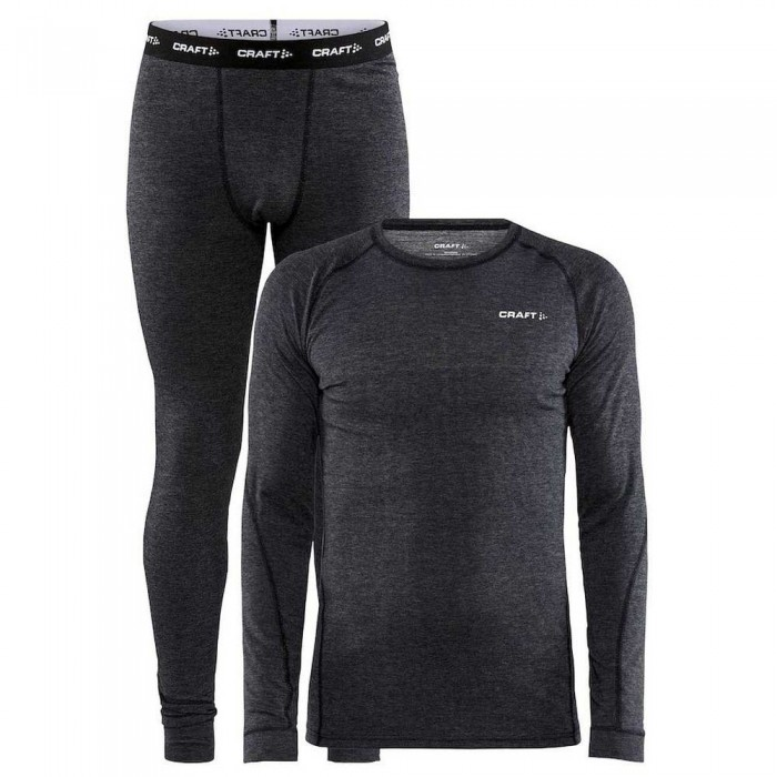 [해외]크래프트 Core Merino Wool Set 12137950366 Black Melange