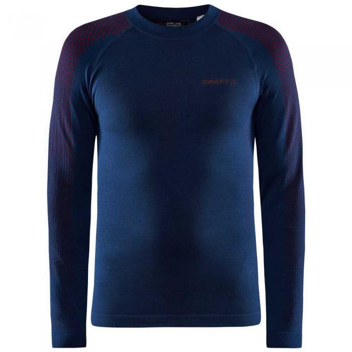 [해외]크래프트 ADV Warm Fuseknit Intensity Long Sleeve T-Shirt 12138113312 Blaze / Lychee