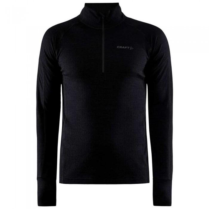[해외]크래프트 ADV Nordic Wool Long Sleeve T-Shirt 12138113315 Black