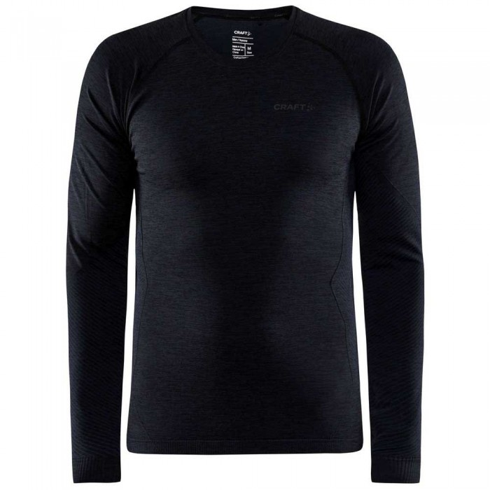 [해외]크래프트 CORE Dry Active Comfort Long Sleeve T-Shirt 12138113324 Black