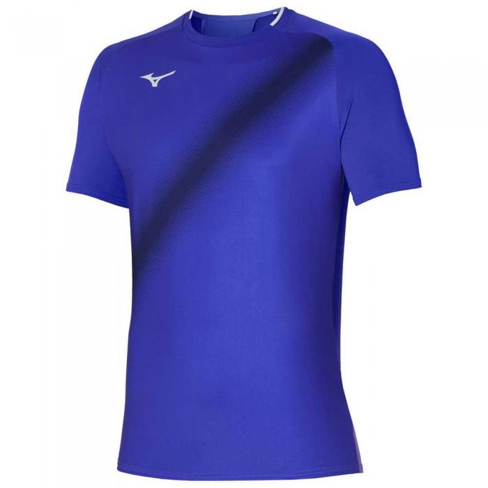 [해외]미즈노 Shadow Short Sleeve T-Shirt 12138143995 Violet Blue