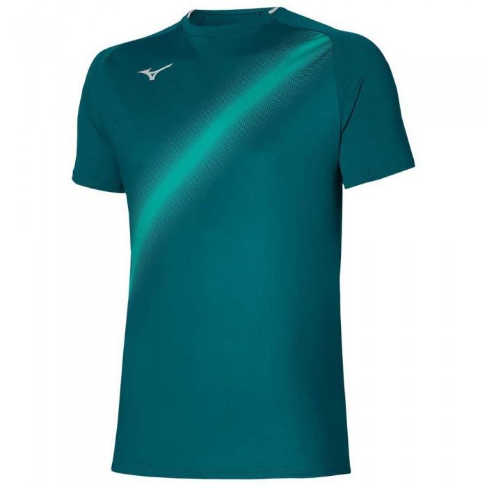 [해외]미즈노 Shadow Short Sleeve T-Shirt 12138143996 Harbor Blue