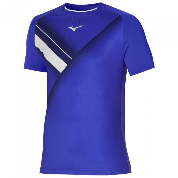 [해외]미즈노 Shadow Graphic Short Sleeve T-Shirt 12138143999 Violet Blue