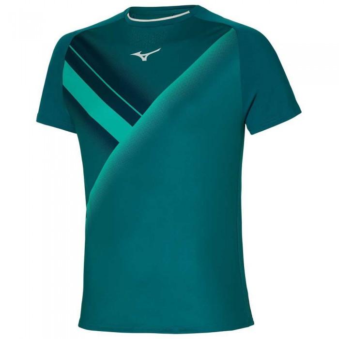 [해외]미즈노 Shadow Graphic Short Sleeve T-Shirt 12138144000 Harbor Blue
