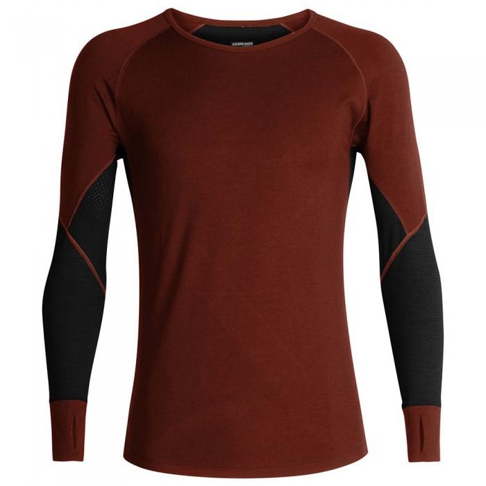 [해외]아이스브레이커 260 Zone Long Sleeve T-Shirt 12138214842 Espresso / Black