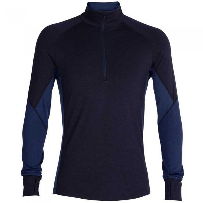 [해외]아이스브레이커 260 Zone Long Sleeve T-Shirt 12138214843 Midnight Navy / Royal Navy