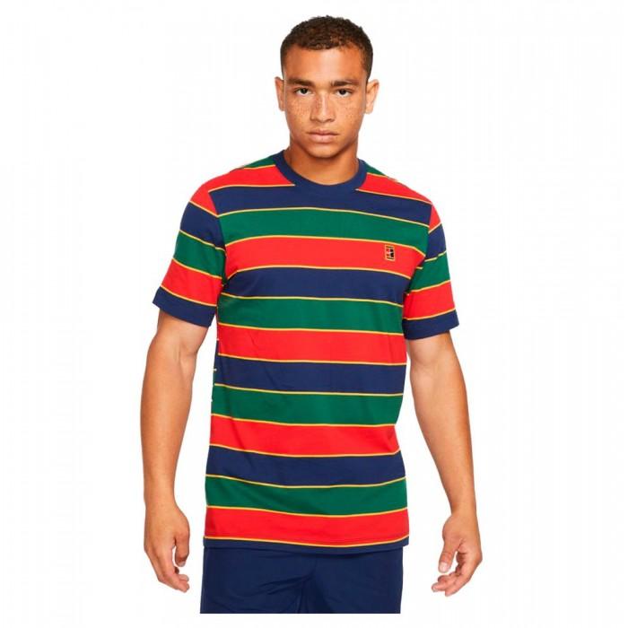 [해외]나이키 Court Short Sleeve T-Shirt 12138251354 Binary Blue