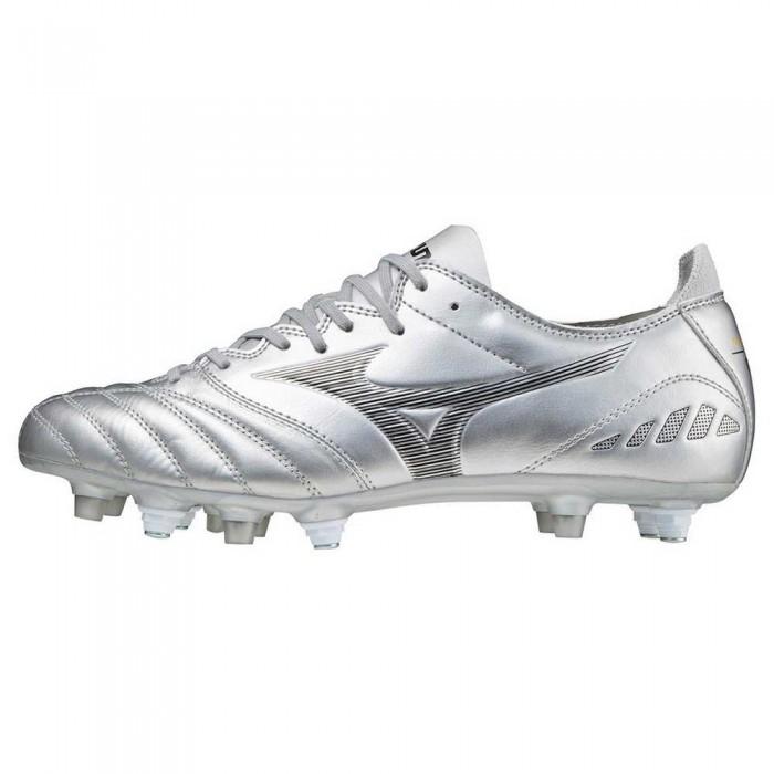 [해외]미즈노 Morelia Neo III Pro Mix Football Boots 3138140702 Silver / Black / Cool Gray