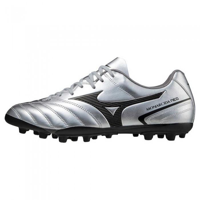 [해외]미즈노 Monarcida II Select AG Football Boots 3138140756 Silver / Black