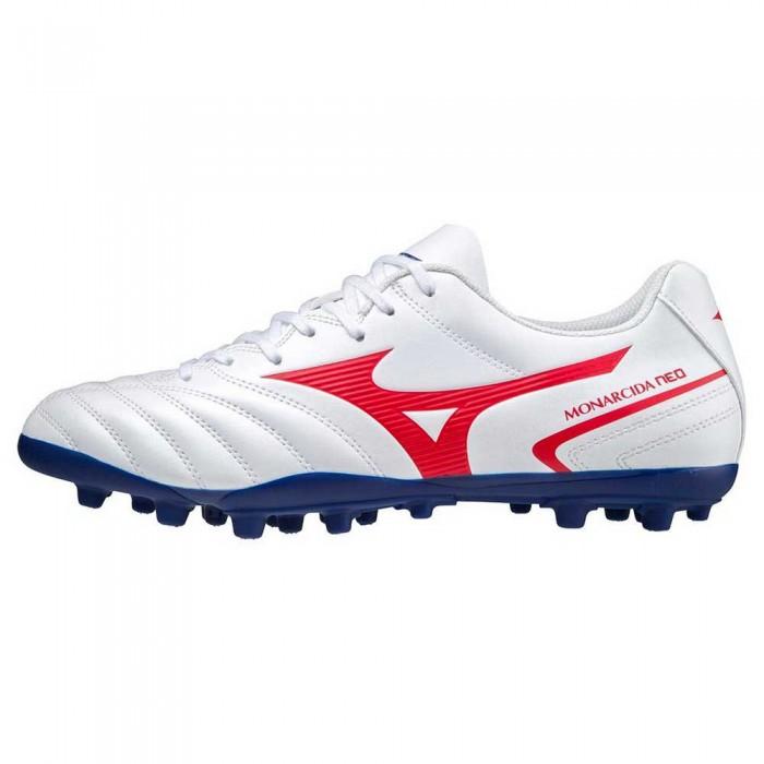 [해외]미즈노 Monarcida II Select AG Football Boots 3138140757 White / High Risk Red