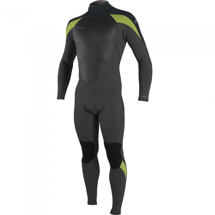 [해외]오닐 웻슈트 Epic 5/4 mm Long Sleeve Wetsuit 14138264822 Black / Gunmetal / Dayglo