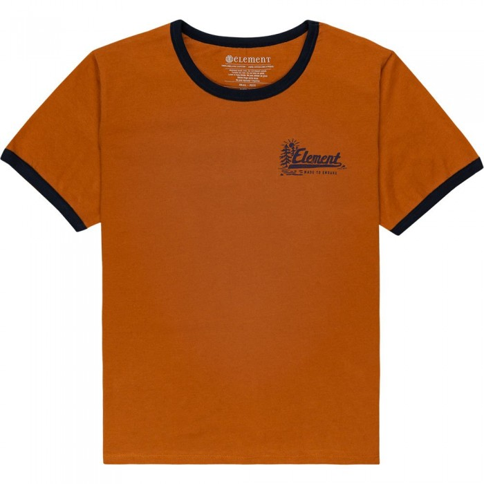 [해외]엘레먼트 Baleek Short Sleeve T-Shirt 14138296320 Glazed Ginger