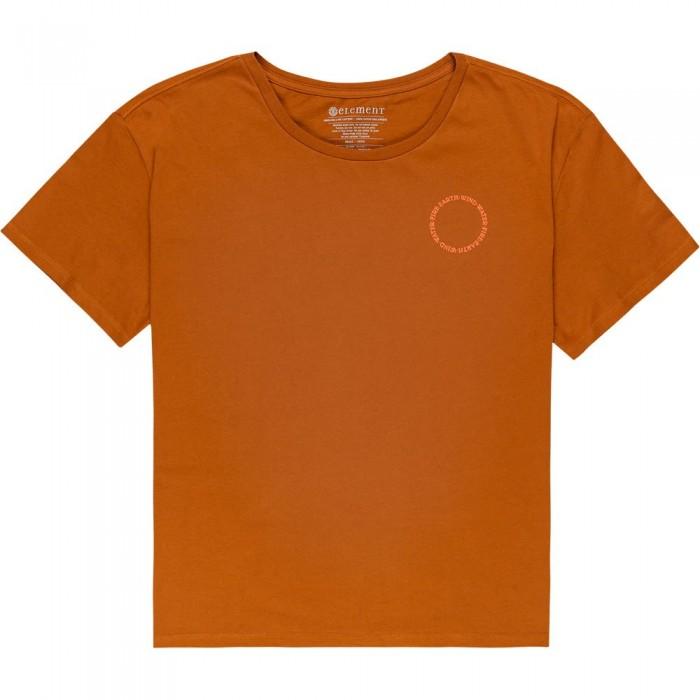 [해외]엘레먼트 Exley Short Sleeve T-Shirt 14138296678 Glazed Ginger