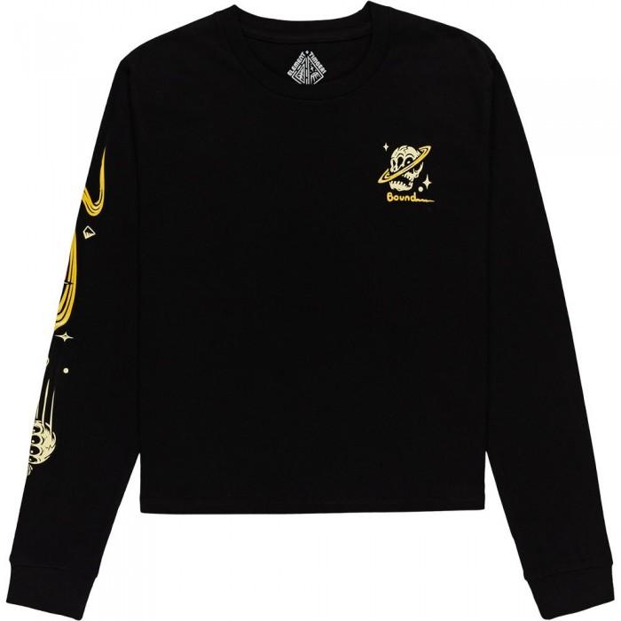 [해외]엘레먼트 Transender Long Sleeve T-Shirt 14138297407 Flint Black