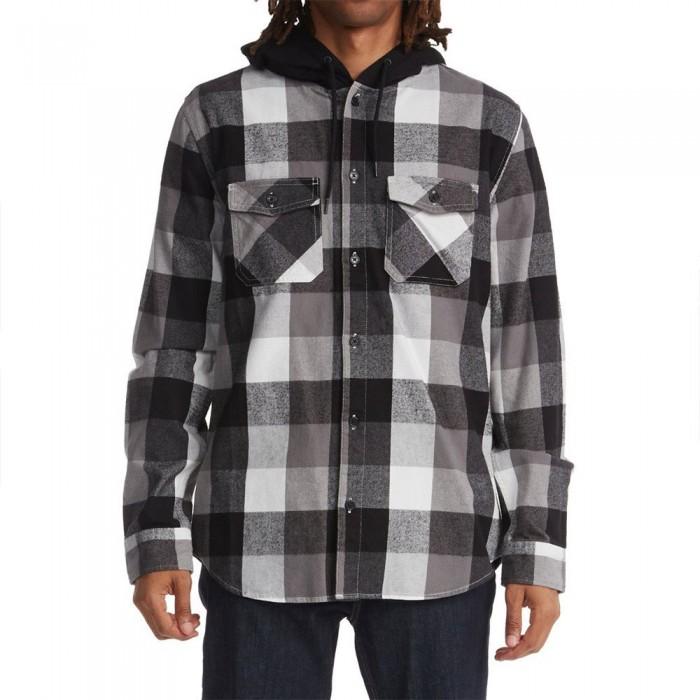 [해외]DC슈즈 Crewdown Long Sleeve T-Shirt 14138152563 Black
