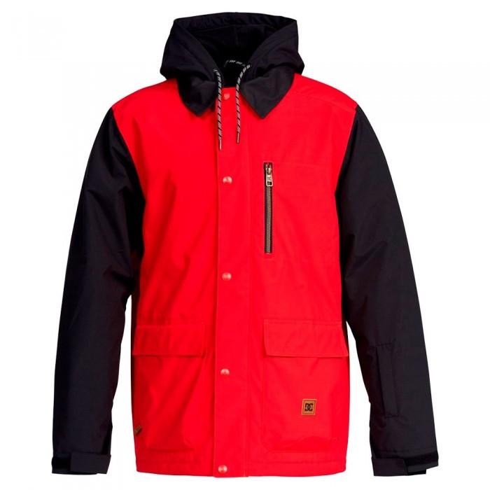 [해외]DC슈즈 Bandwidth Jacket 14138152709 Racing Red