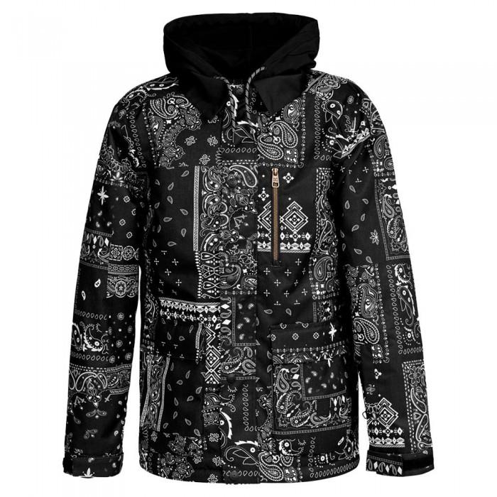 [해외]DC슈즈 Bandwidth Jacket 14138152711 Bandana Black