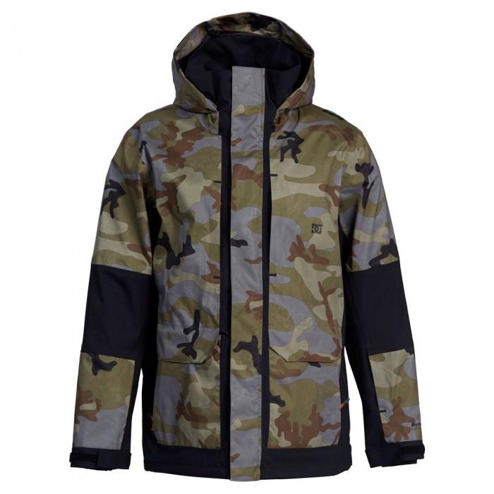 [해외]DC슈즈 Command Jacket 14138152737 Woodland Camo Castlerock