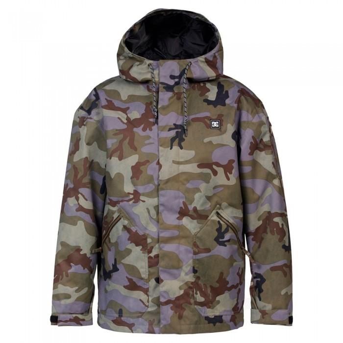 [해외]DC슈즈 Cadet Jacket 14138152743 Woodland Camo Castlerock