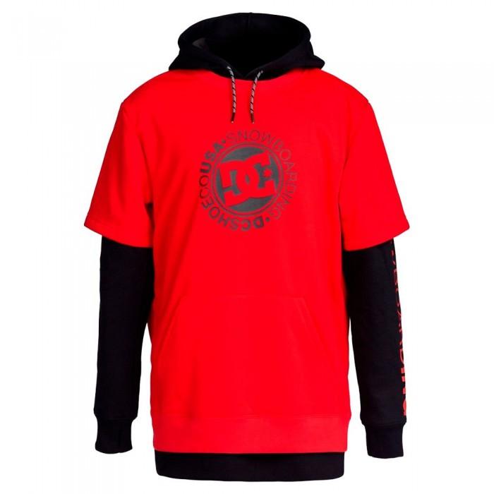 [해외]DC슈즈 Dryden Hoodie 14138153018 Racing Red