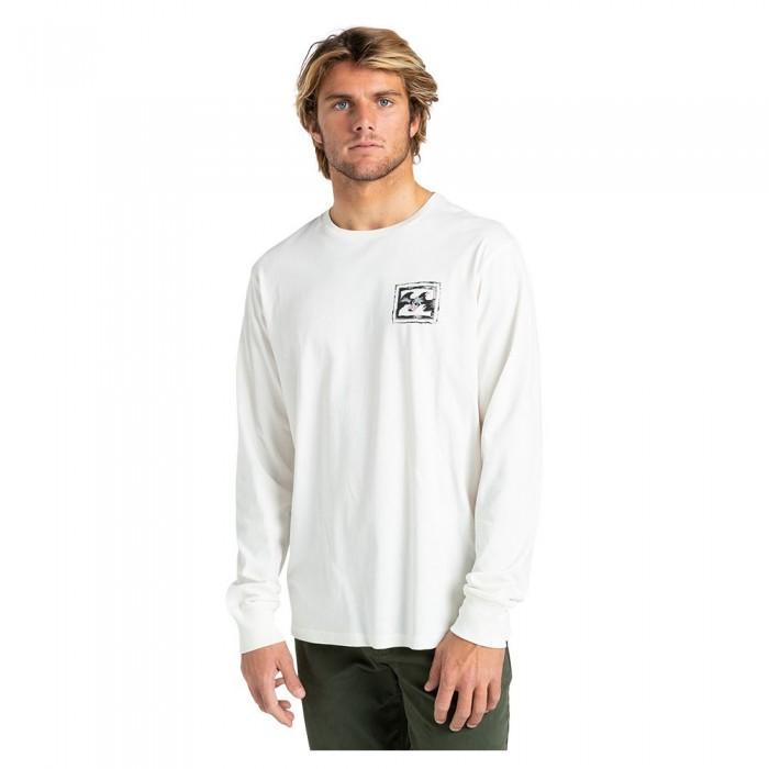 [해외]빌라봉 Crayon Wave Long Sleeve T-Shirt 14138285814 Off White