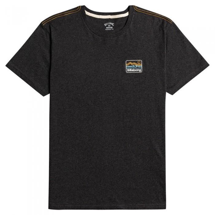 [해외]빌라봉 Dream Emb Short Sleeve T-Shirt 14138285880 Black Heather