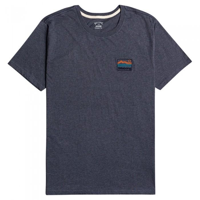 [해외]빌라봉 Dream Emb Short Sleeve T-Shirt 14138285881 Denim Heathr