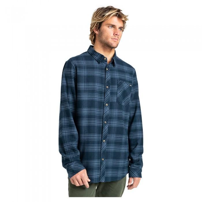 [해외]빌라봉 Eternal Flannel Long Sleeve Shirt 14138285906 Navy