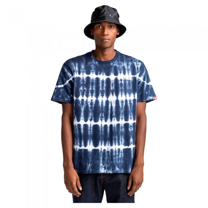 [해외]엘레먼트 Blazin Chest Tie Dye Short Sleeve T-Shirt 14138296401 Eclipse Navy