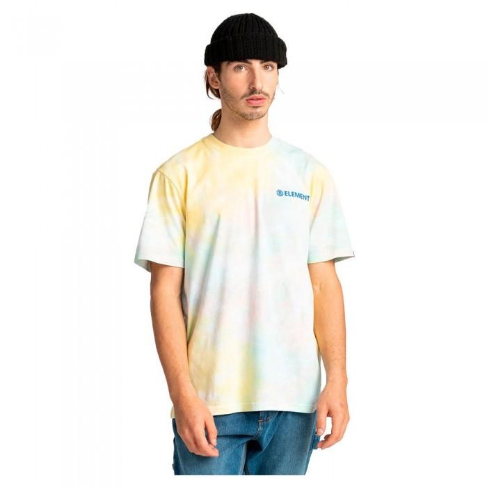 [해외]엘레먼트 Blazin Chest Tie Dye Short Sleeve T-Shirt 14138296409 Yellow