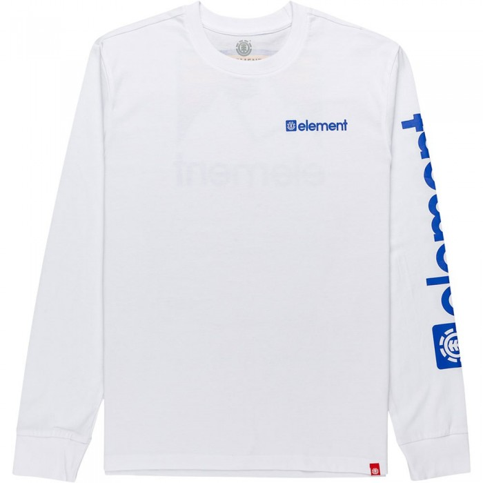 [해외]엘레먼트 Joint Long Sleeve T-Shirt 14138296821 Optic White