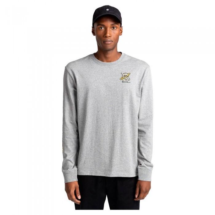 [해외]엘레먼트 Transender Long Sleeve T-Shirt 14138297408 Grey Heather