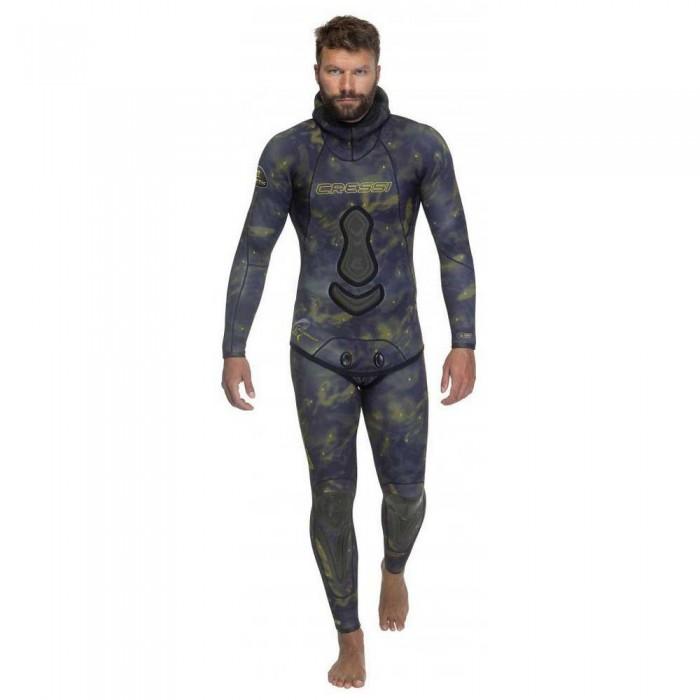 [해외]크레시 Lampuga Spearfishing Suit 7 mm 10138128105 Black / Green