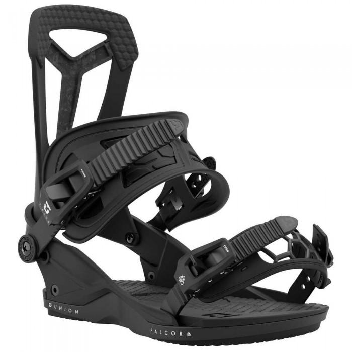[해외]UNION Falcor Snowboard Bindings 5138144881 Black Marble