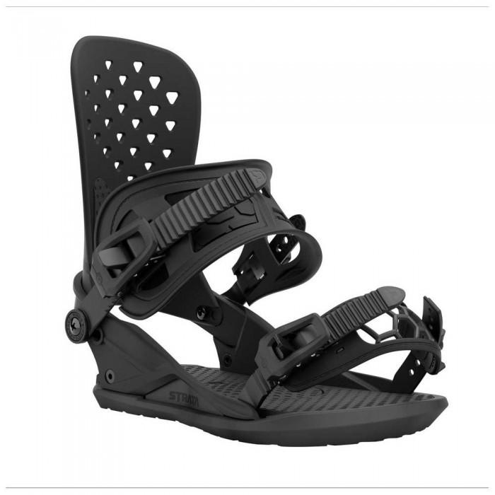 [해외]UNION Strata Snowboard Bindings 5138144884 Black